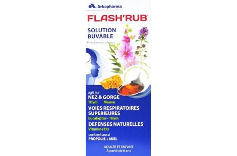 Flash'Rub solution buvable