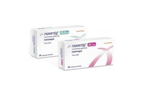 Moventig 12,5 mg et 25 mg